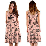 """Nerd""Bookish Midi-Dress - Gifts For Reading Addicts"