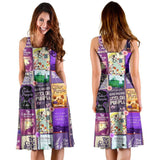 The Color Purple Book Covers Pattern Dress - Gifts For Reading Addicts