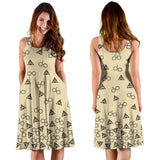 Light Brown Harry Potter Midi-Dress - Gifts For Reading Addicts