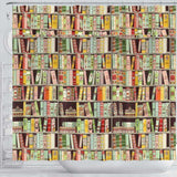 Bookish Pattern Curtain - Gifts For Reading Addicts