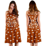Orange Bookish Midi-Dress - Gifts For Reading Addicts