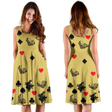Yellow Alice In Wonderland Midi-Dress - Gifts For Reading Addicts