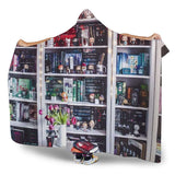 book shelf hooded blanket - Gifts For Reading Addicts