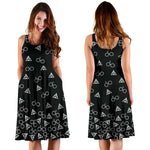 Black Harry Potter Midi-Dress