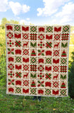 Bookish Christmas Quilt