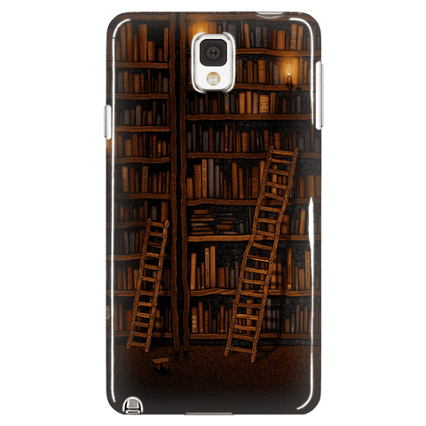 Books Castle Phone Cases-For Reading Addicts