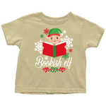 """Bookish Elf""Toddler T-Shirt - Gifts For Reading Addicts"