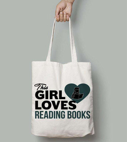 This Girl Loves to Read Totes-For Reading Addicts