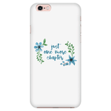 One more floral phone case white