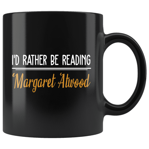 """I'd Rather Be reading MA""11oz Black Mug"