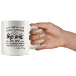 """We've loved each other""11oz white mug - Gifts For Reading Addicts"