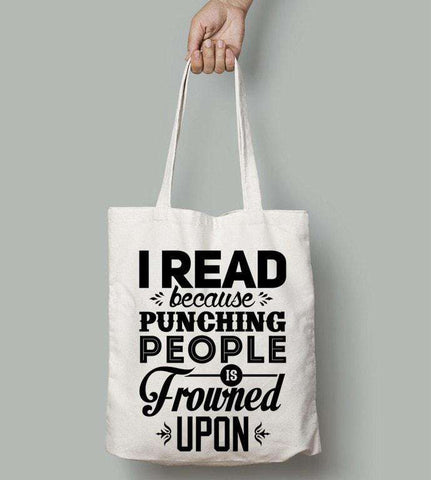 I Read Because ...-For Reading Addicts