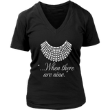 """When there are nine"" V-neck Tshirt - Gifts For Reading Addicts"