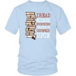 """I Read"" Unisex T-Shirt - Gifts For Reading Addicts"