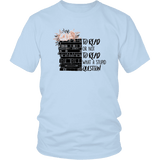 """To read or not to read"" Unisex T-Shirt - Gifts For Reading Addicts"
