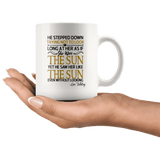 """As if she were the sun""11oz white mug - Gifts For Reading Addicts"