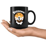 """BOOOOKS""11oz Black Mug"