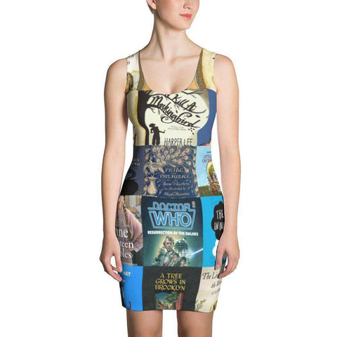 Books design Fit Dress - Gifts For Reading Addicts