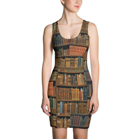 Bookshelves design Fit Dress - Gifts For Reading Addicts