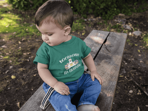 """Bookworm In Training""Infant T-shirt"