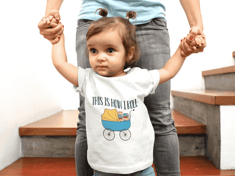 """This Is How I Roll""Toddler T-Shirt"