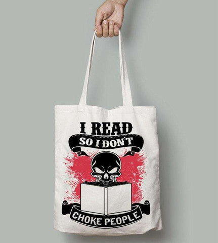 I Read So I Don't...-For Reading Addicts
