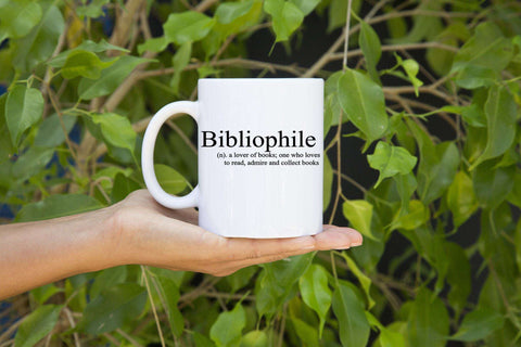 Bibliophile 11 oz Mugs-For Reading Addicts