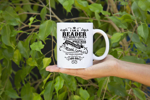 I Am A Reader! Mugs - Gifts For Reading Addicts