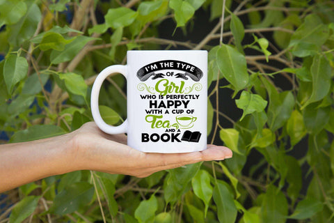 Tea & a Book Mugs - Gifts For Reading Addicts