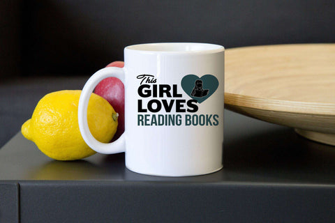 This Girl Loves to Read Mugs-For Reading Addicts