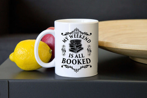 Weekend Booked Mugs - Gifts For Reading Addicts