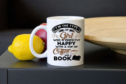 Coffee & a Book Mugs-For Reading Addicts