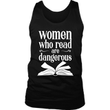"""Women who read"" Men's Tank Top"