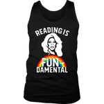 "Rupaul""Reading Is Fundamental"" Men's Tank Top - Gifts For Reading Addicts"
