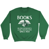 """Books"" Sweatshirt"