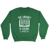"""The library"" Sweatshirt"