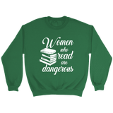 """Women who read"" Sweatshirt - Gifts For Reading Addicts"