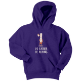 """I'd rather be reading"" YOUTH HOODIE - Gifts For Reading Addicts"