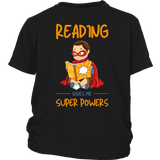 """Reading gives me""YOUTH SHIRT"