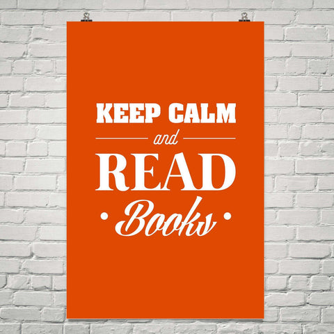 Keep Calm And Read Books-For Reading Addicts