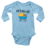 """This Is How I Roll""Long Sleeve Baby Bodysuit"