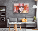 Alice In Wonderland Mad Hat Art Piece - Gifts For Reading Addicts