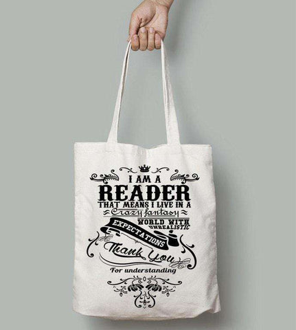I Am A Reader!-For Reading Addicts
