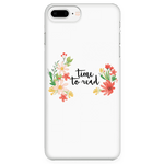 Time to read phone case white - Gifts For Reading Addicts