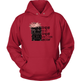 """To read or not to read"" Hoodie - Gifts For Reading Addicts"