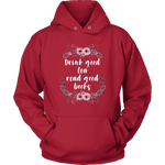 """Read Good Books"" Hoodie"