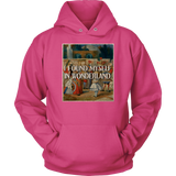 """I Found Myself In Wonderland"" Hoodie - Gifts For Reading Addicts"