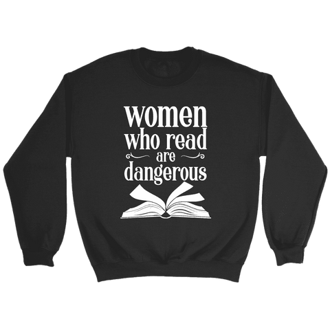 """Women who read"" Sweatshirt"