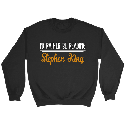 """I'd Rather Be Reading SK"" Sweatshirt"