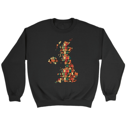 """UK Bookish Map"" Sweatshirt"